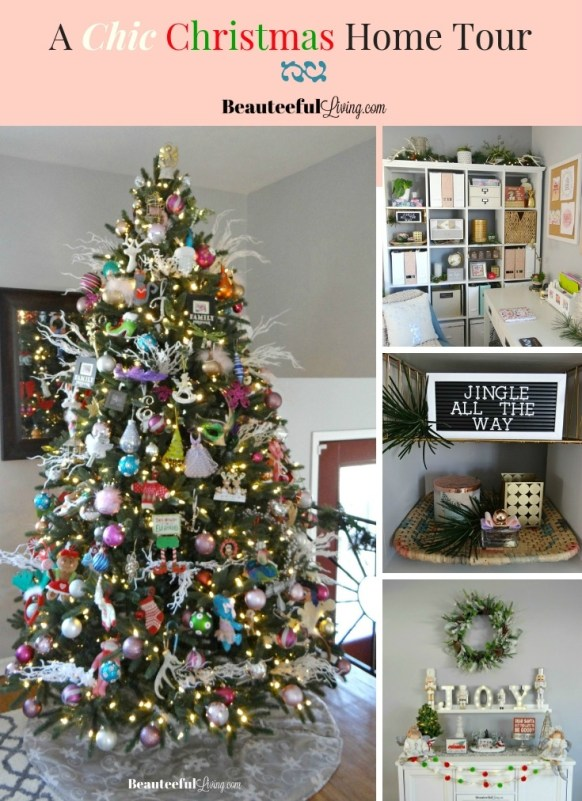 Chic Christmas Home Tour - Beauteeful Living