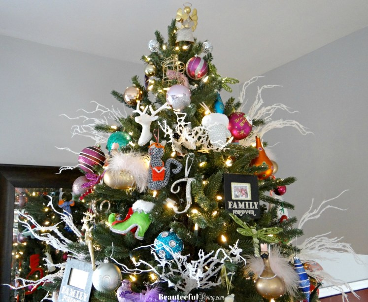 Prelit Christmas Tree top - Beauteeful Living