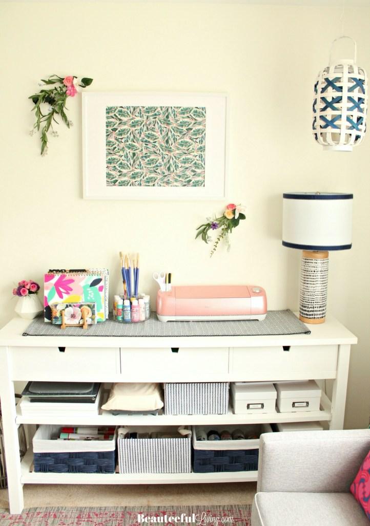 Craft Room Craft Organization - Beauteeful Living