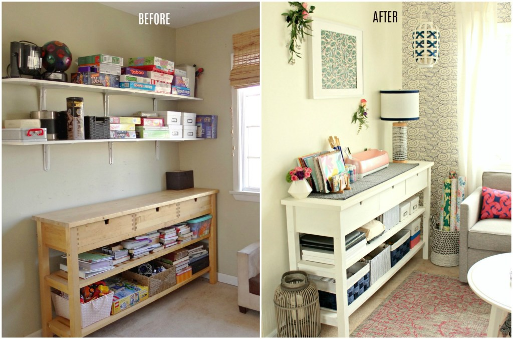 Craft Room Left Side - Beauteeful Living