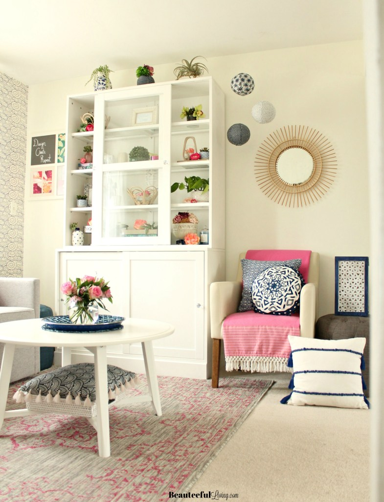 Craft Room Makeover- Beauteeful Living