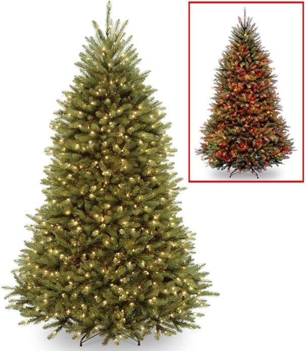 Pre-lit dual led lights Christmas Tree