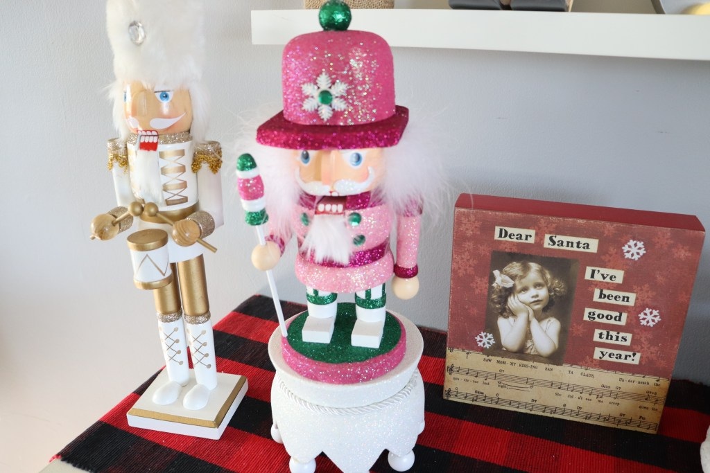 Pink toy soldier