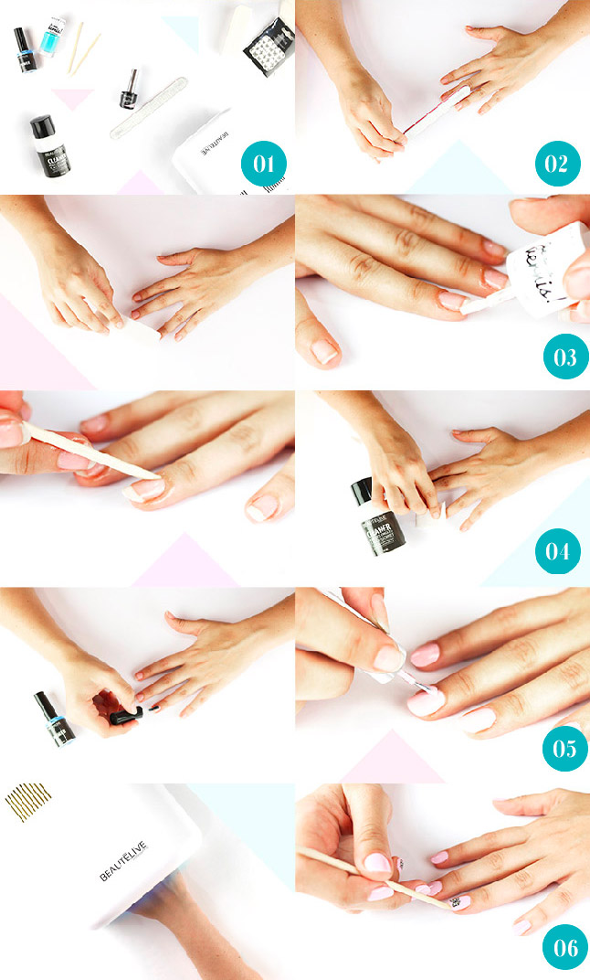 tutoriel manucure 1 polish
