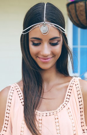 Tribal Coin Headpiece