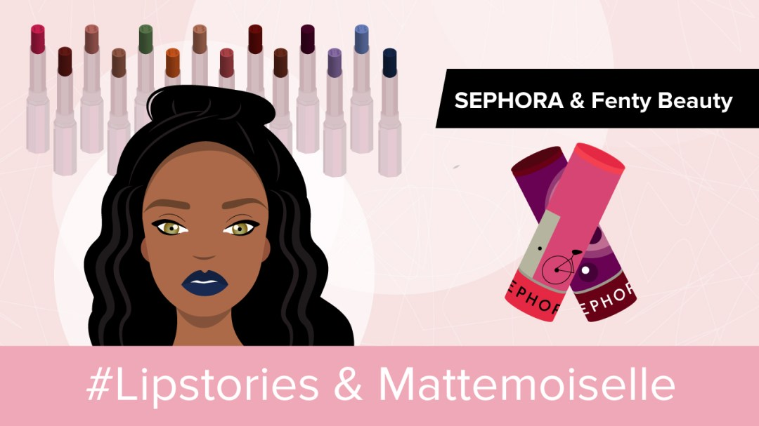 Illustration #Lipstories et Mattemoiselle