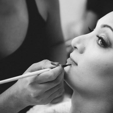 maquillage mariée guer