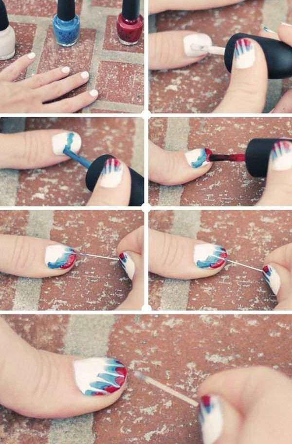 Nail Art Designs For Short Nails Easy Using Toothpick Glamour