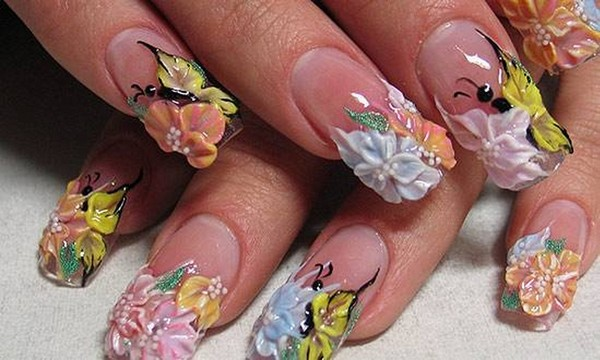 How To Make 3d Nail Art Flowers Emsilog
