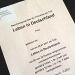 Einbürgerungstest(Leben in Deutschland)合格!ようやくテストから解放!