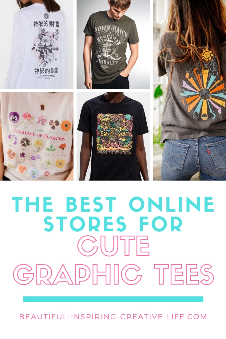 stores that sell cute graphic tees