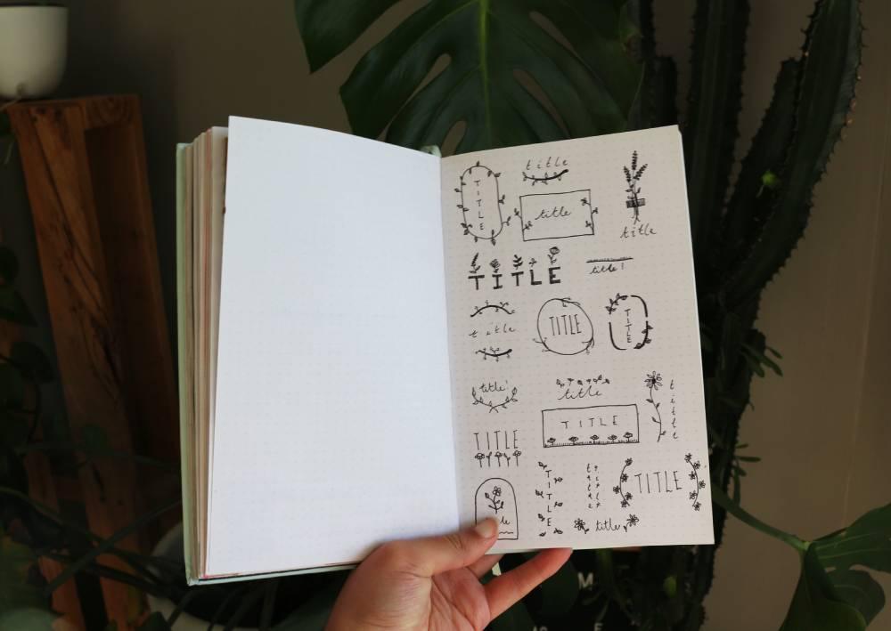 Floral Bu-Jo Titles & A Stationery Wishlist!