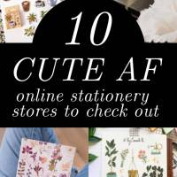 10 Best Online Stationery Stores (For Cheap & Cute Stationery)