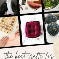 DIYs & Crafts For Adults - 10 Fun & Practical Ideas!