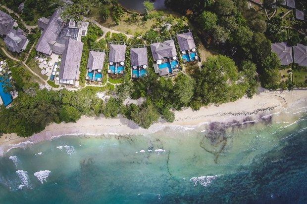 The H Resort & Sesel Spa, Mahé, Seychellen - Tropen-Chic am Beau Vallon Beach