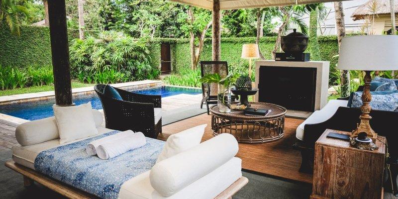 Kayumanis Sanur Private Villa & Spa, Bali - Outdoor-Living, Luxus