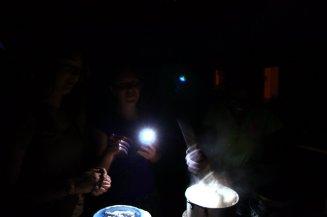 Making Nsima (Lacey, Amanda & Deliah)