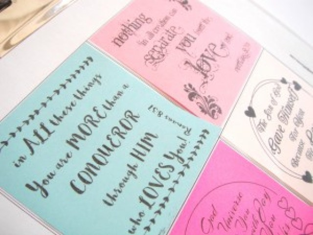 Free Sticky Note Printable - God Loves YOU Quotes!