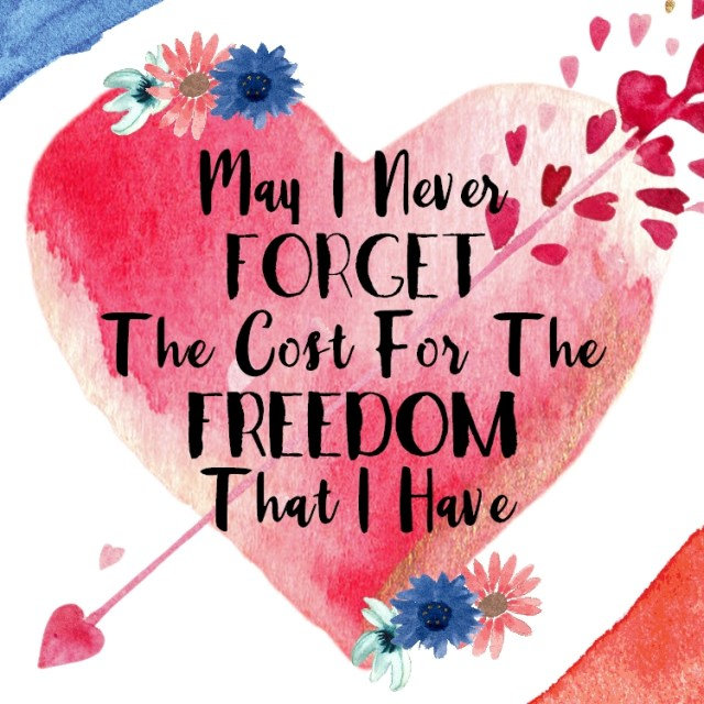 3 of 4 graphics for 4th of July and Practicing Gratitude