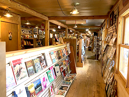 Western Edge Bookstore retail area