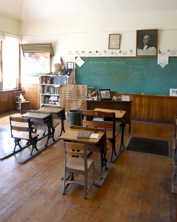 A fully restored one-room school house is ready to host classes at the Dunn County Museum Portal to the past