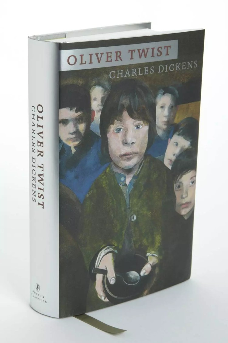 Oliver Twist designed by Peter Blake | Puffin 70th Anniversary Limited Edition series – beautifulbooks.info