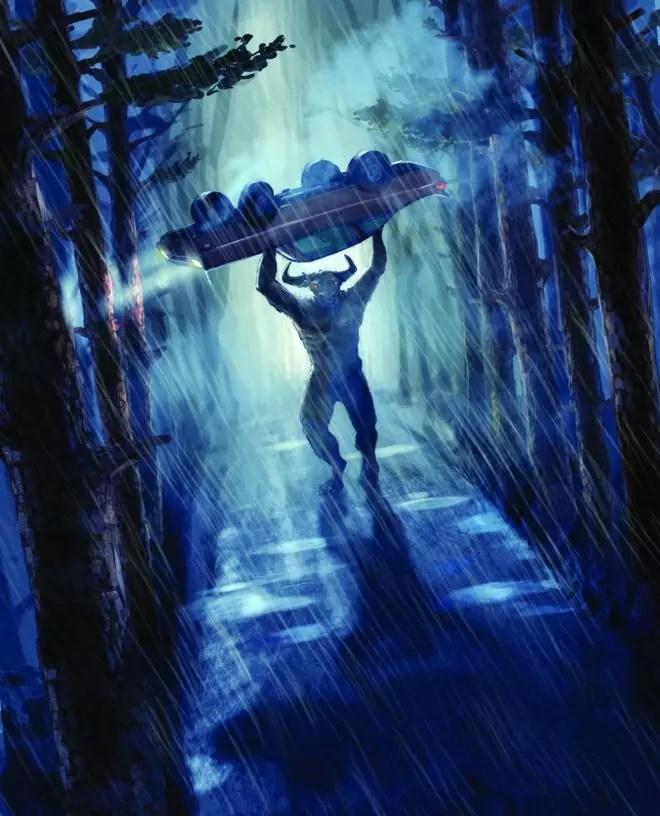 percy jackson lightning thief illustration 4