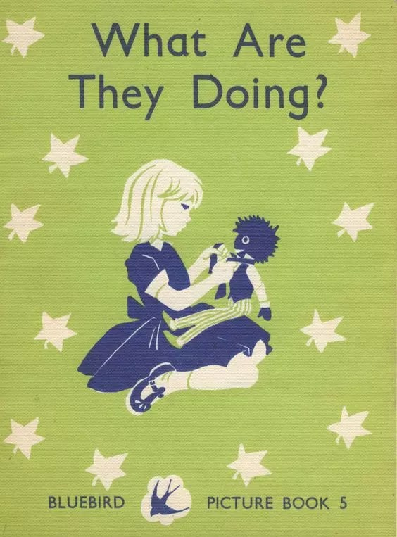 Janet Anne Grahame Johnstone Bluebird Picture Book What Are They Doing