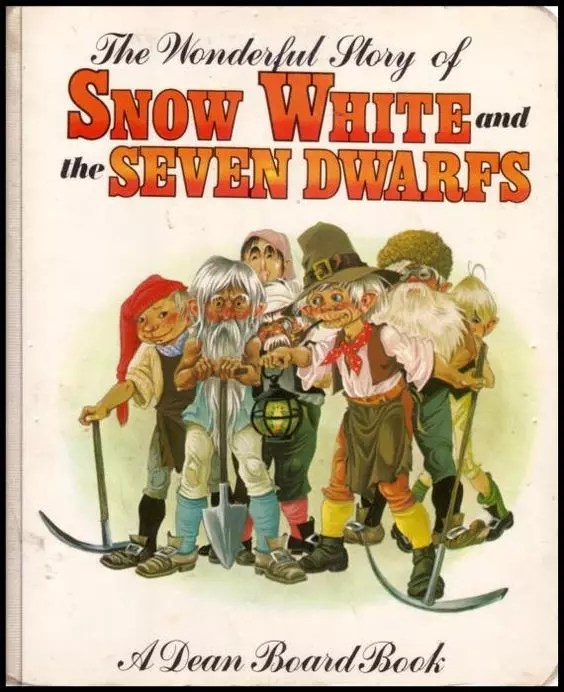 Janet Anne Grahame Johnstone Dean Board Book The Wonderful Story of Snow White and the Seven Dwarfs