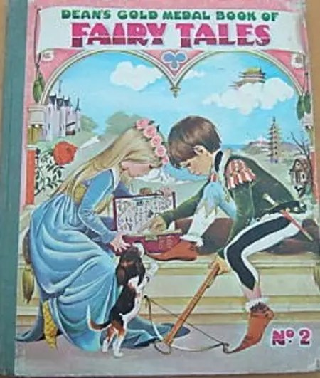 Janet Anne Grahame Johnstone Deans Gold Medal Book of Fairy Tales No 2