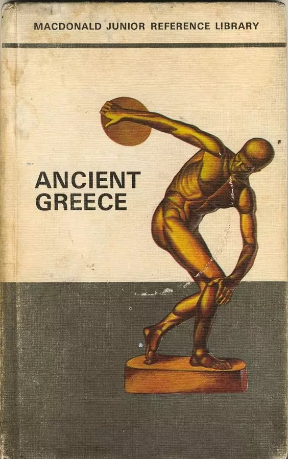 Janet Anne Grahame Johnstone Macdonald Junior Reference Library Ancient Greece