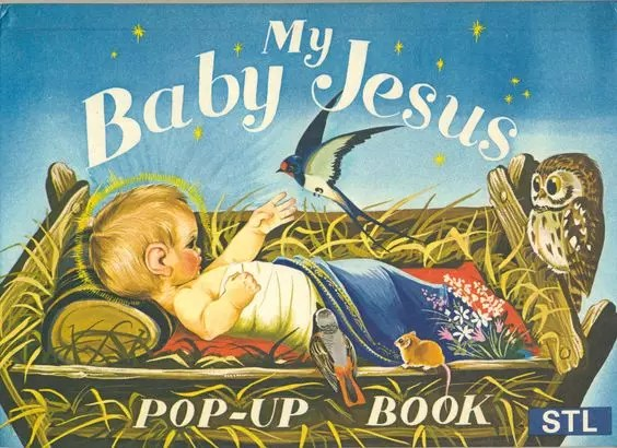 Janet Anne Grahame Johnstone My Baby Jesus Popup Book