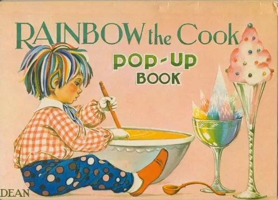 Janet Anne Grahame Johnstone Rainbow Rainbow the Cook Popup Book