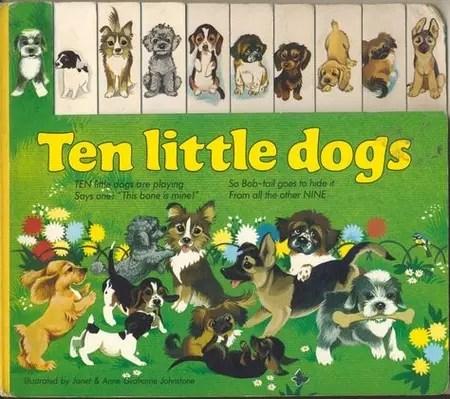 Janet Anne Grahame Johnstone Ten Little Dogs
