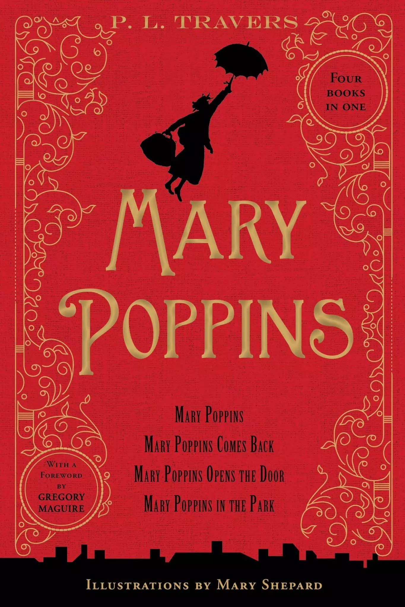 PL Travers Mary Poppins 80th anniversary collection cover