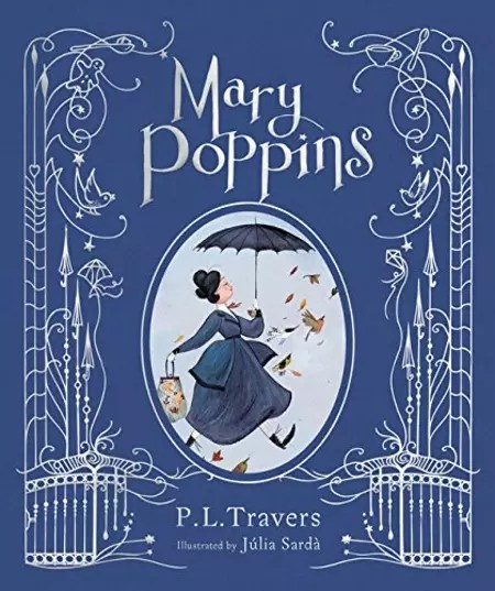 PL Travers Mary Poppins Julia Sarda cover