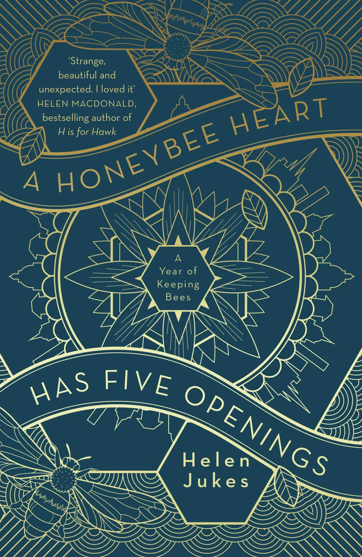 a honeybee heart has five openings 9781471167713 hr