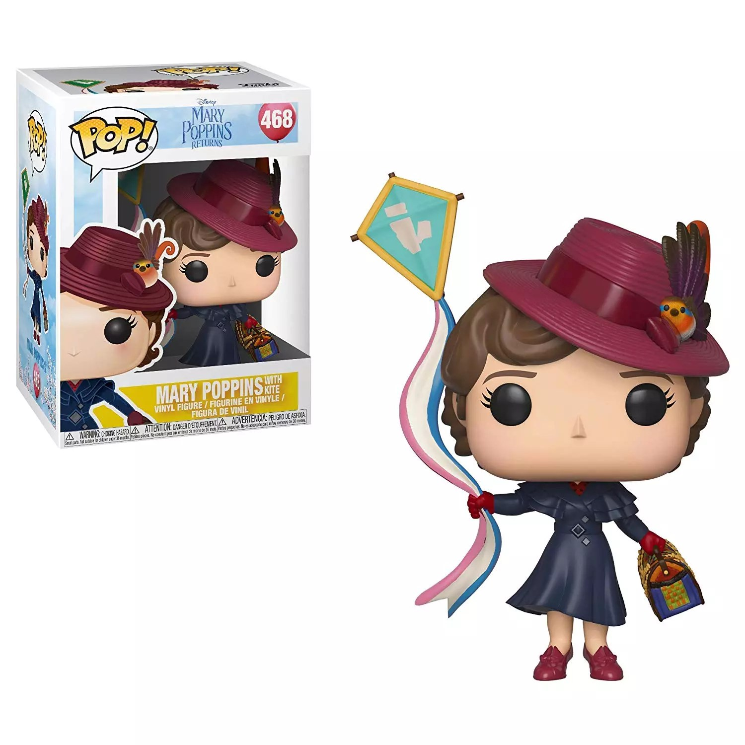 pop funko new mary with box