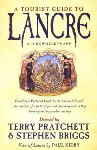 terry pratchett tourist guide to lancre map cover