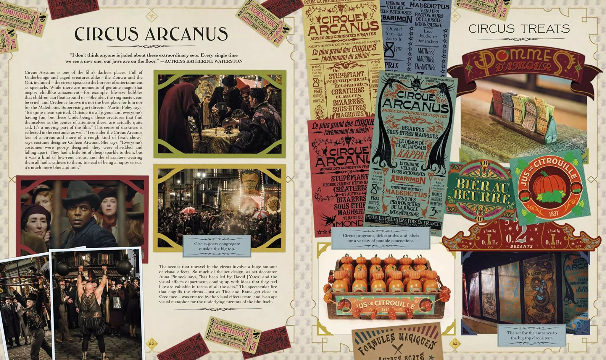 the archive of magic circus