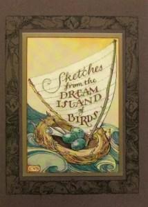 CVS Ephemera Prospectus for Sketches from the Dream Island of Birds