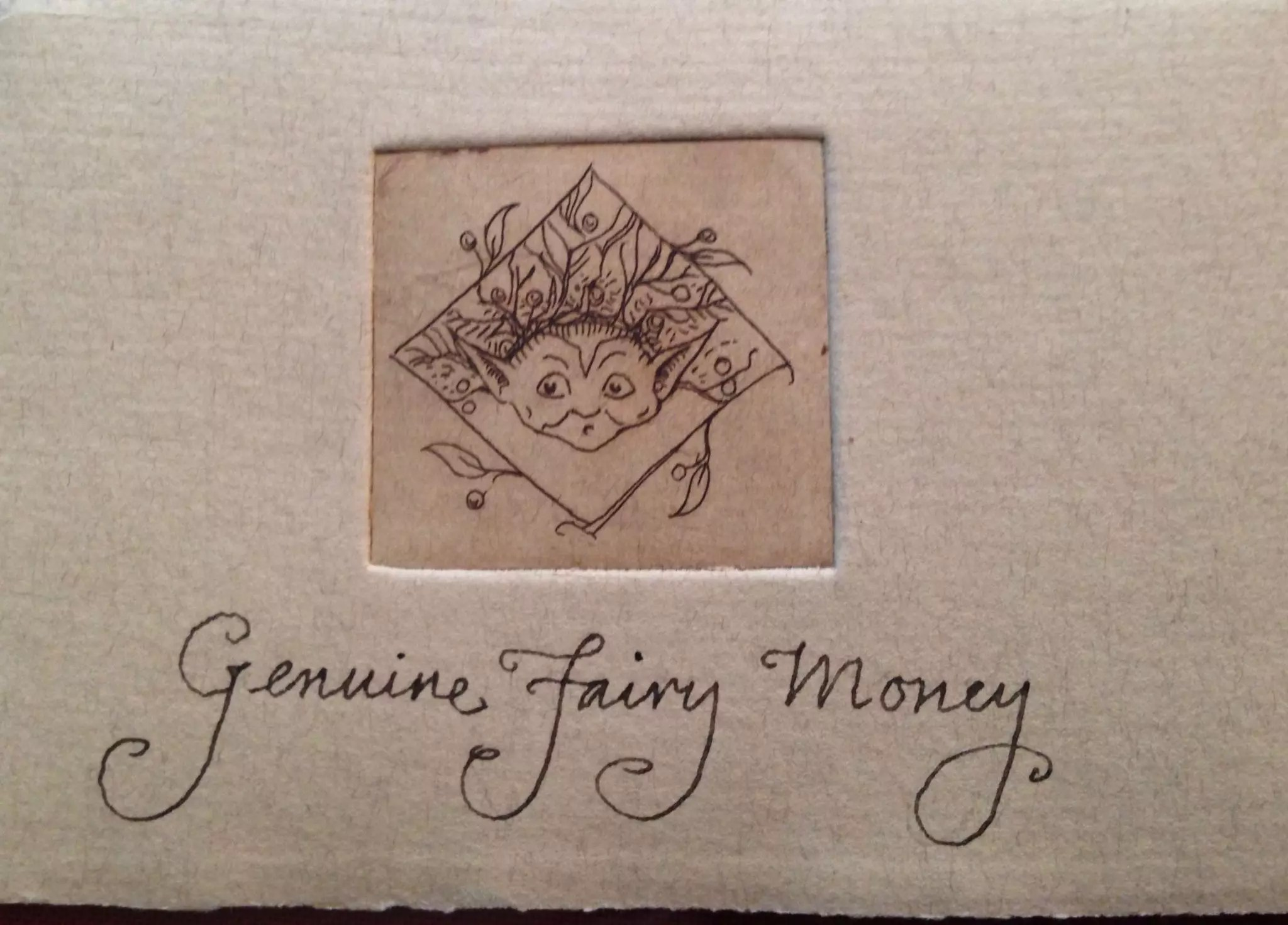 CVS Ephemera fairy money