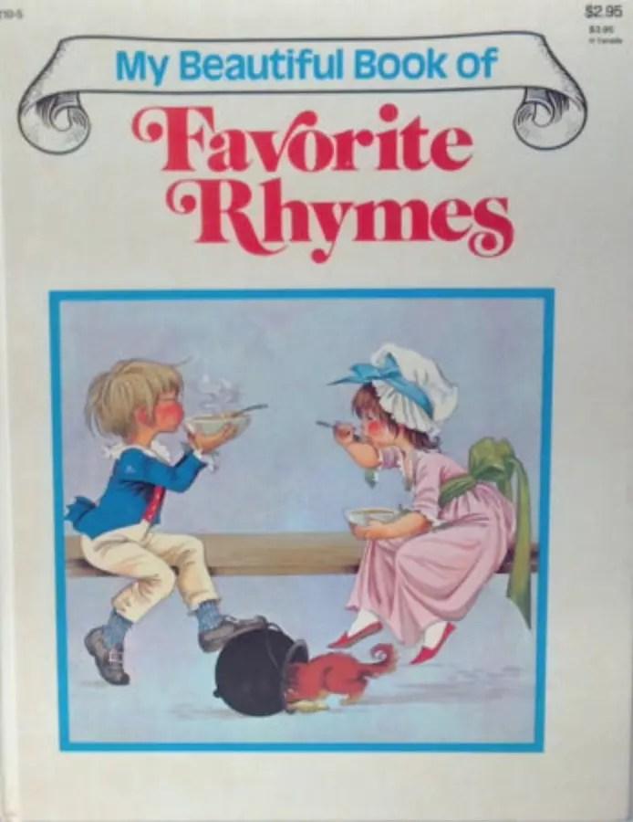 GJT My Beautiful Book of Favorite Nursery Rhymes