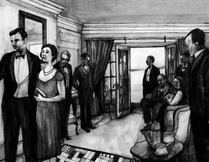 Agatha Christie And Then There Were None FS David Lupton illus 6