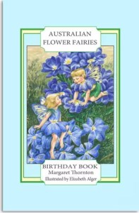 Elizabeth Alger Margaret Thornton Australian Flower Fairies Address Book