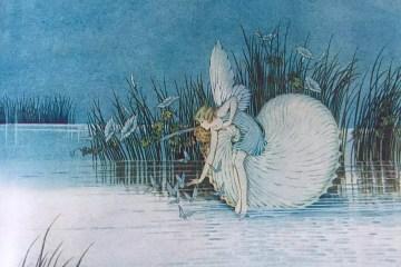 Ida Rentoul Outhwaite Fairyland Nautilus Fairy
