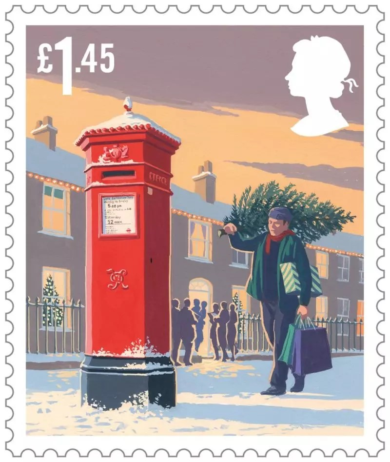 andrew davidson 0 Royal Mail 2018 Christmas stamps 1 800x947