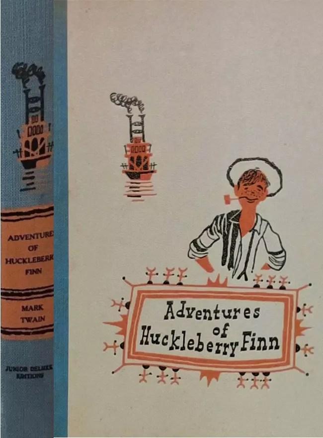 JDE Adventures of Huckleberry Finn OLD ED FULL cover