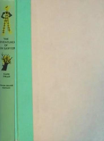 JDE Adventures of Tom Sawyer FULL blank cover