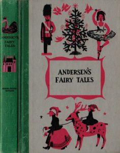 JDE Andersens Fairy Tales FULL green cloth cover